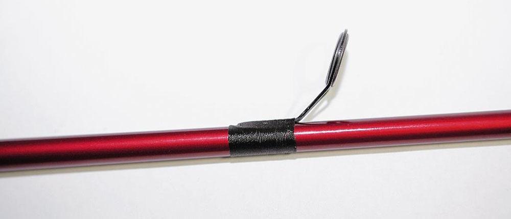 ремонт телескопических удилищ с кольцами
