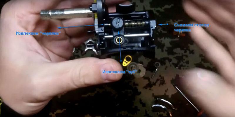 ремонт рыболовных катушек фото 17