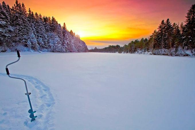 летняя леска для зимней рыбалки