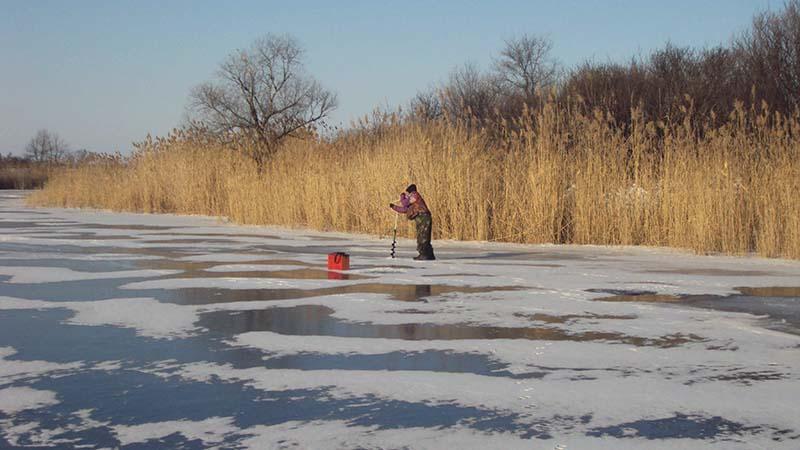 ловля окуня на мормышку зимой фото 3