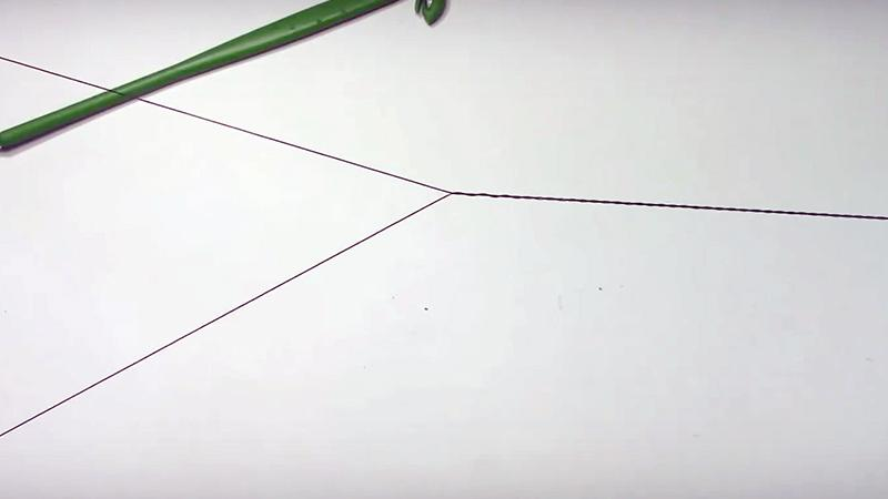 как сделать скрутку на леске фото 6