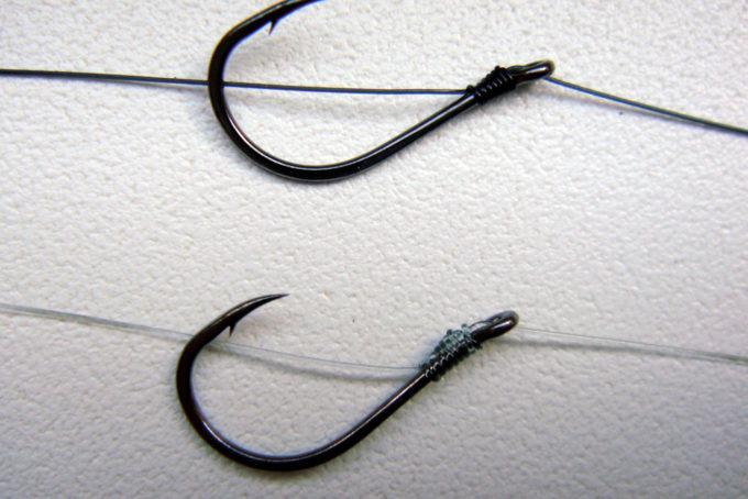 Способы привязывания крючков. Рыболовные узлы для крючков