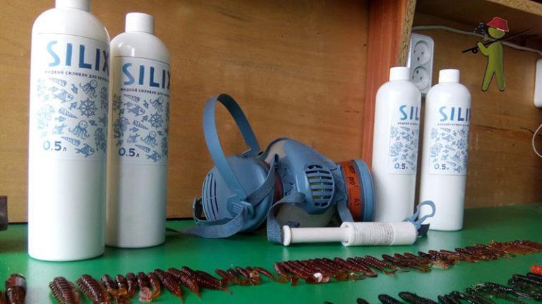 Купить жидкий силикон для рыболовных приманок