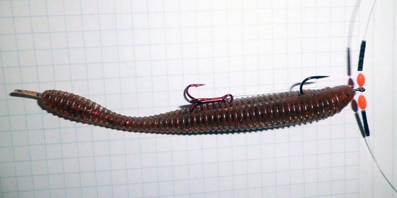 Искусственные черви для рыбалки фото 5