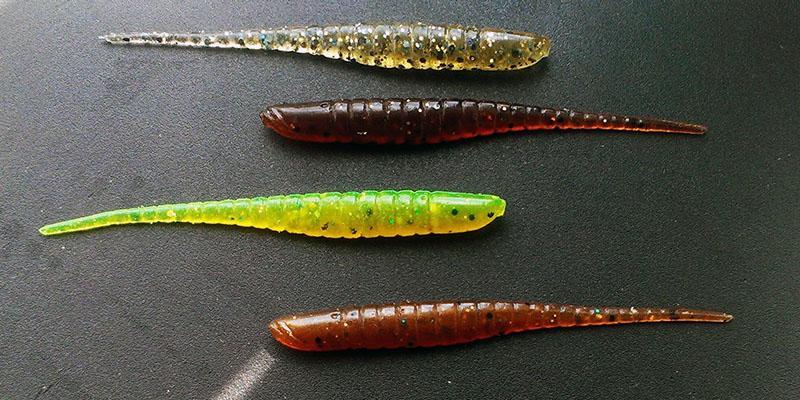 Искусственные черви для рыбалки фото 8