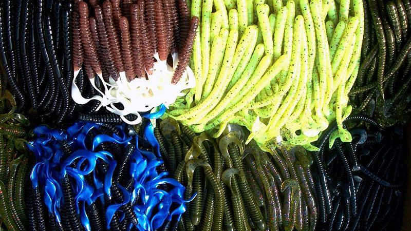 Искусственные черви для рыбалки фото 9