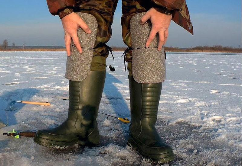 наколенники для зимней рыбалки фото 3