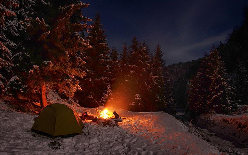 обогрев палатки зимой на рыбалке фото 1