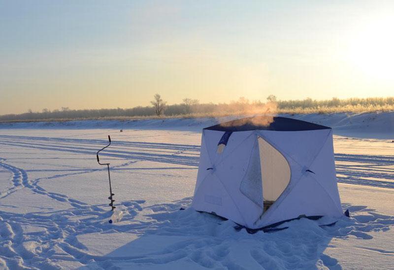обогрев палатки зимой на рыбалке фото 2