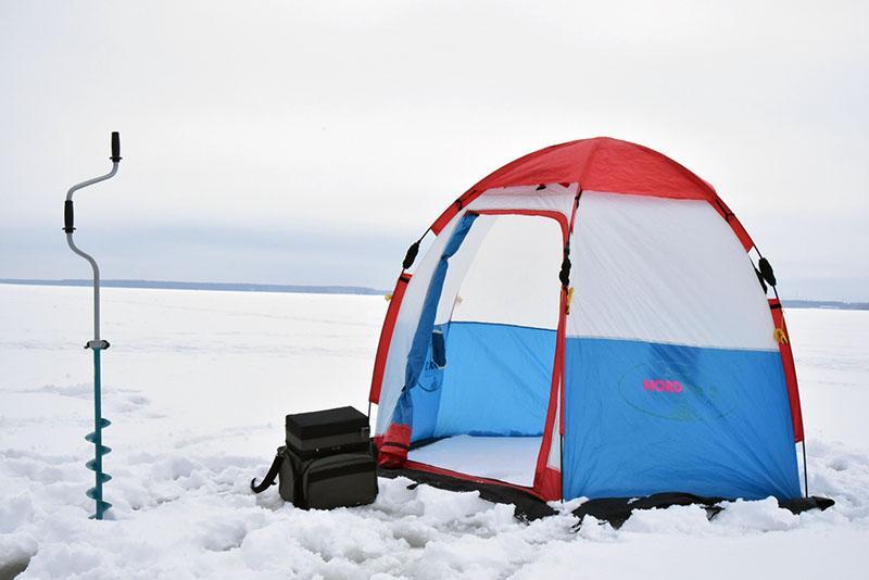палатка для зимней рыбалки фото 1