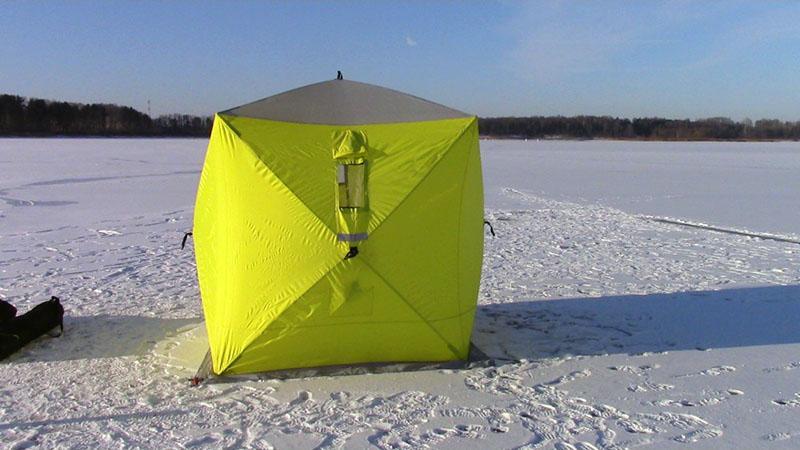 палатка для зимней рыбалки фото 2
