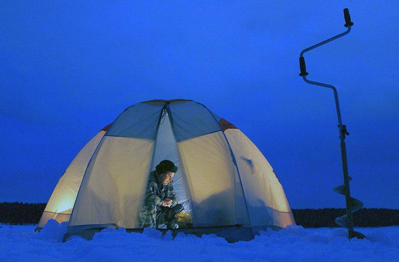палатка для зимней рыбалки фото 4