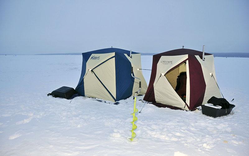 палатка для зимней рыбалки фото 9