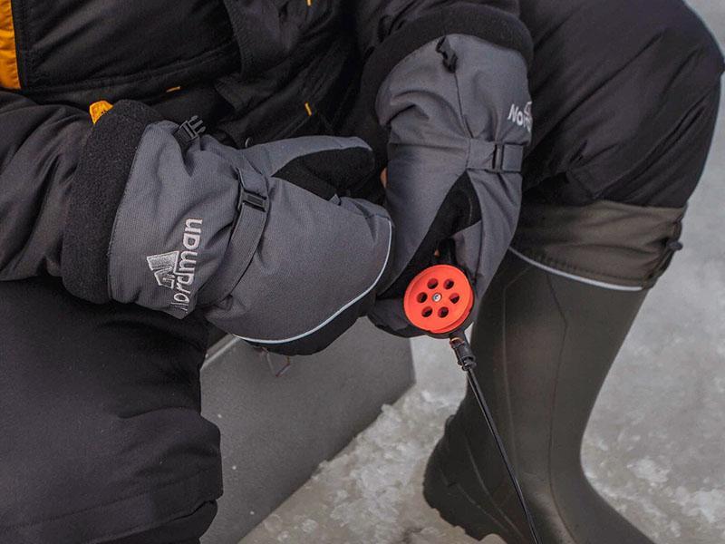 рукавицы для зимней рыбалки фото 3