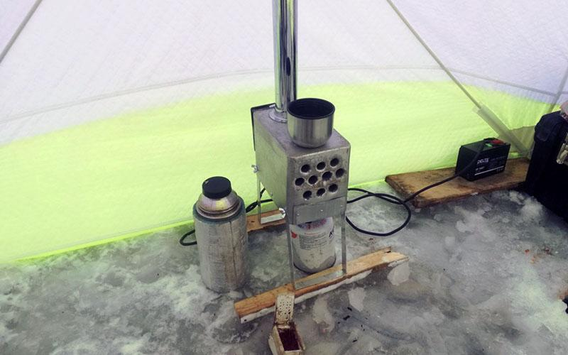 теплообменник для зимней рыбалки фото 2