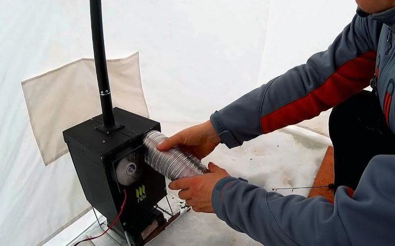 теплообменник для зимней рыбалки фото 3