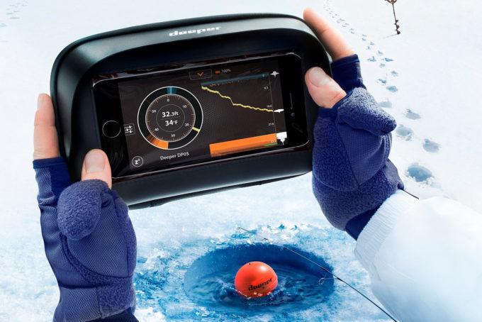 Эхолот для зимней рыбалки через лед
