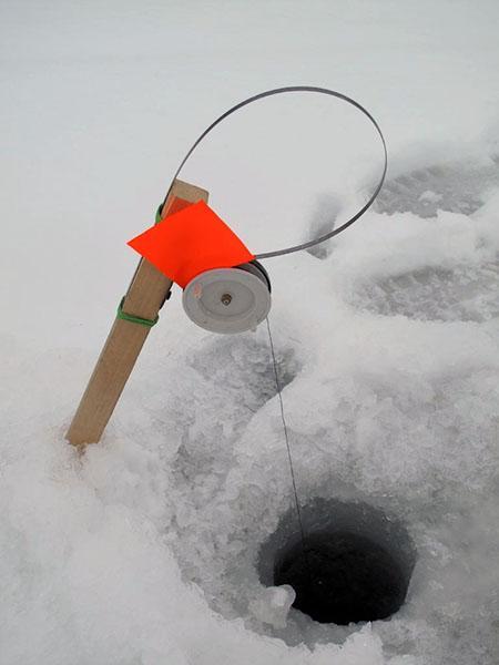 зимняя жерлица фото 6