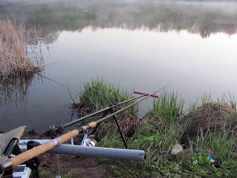 ловля на фидер весной фото 14