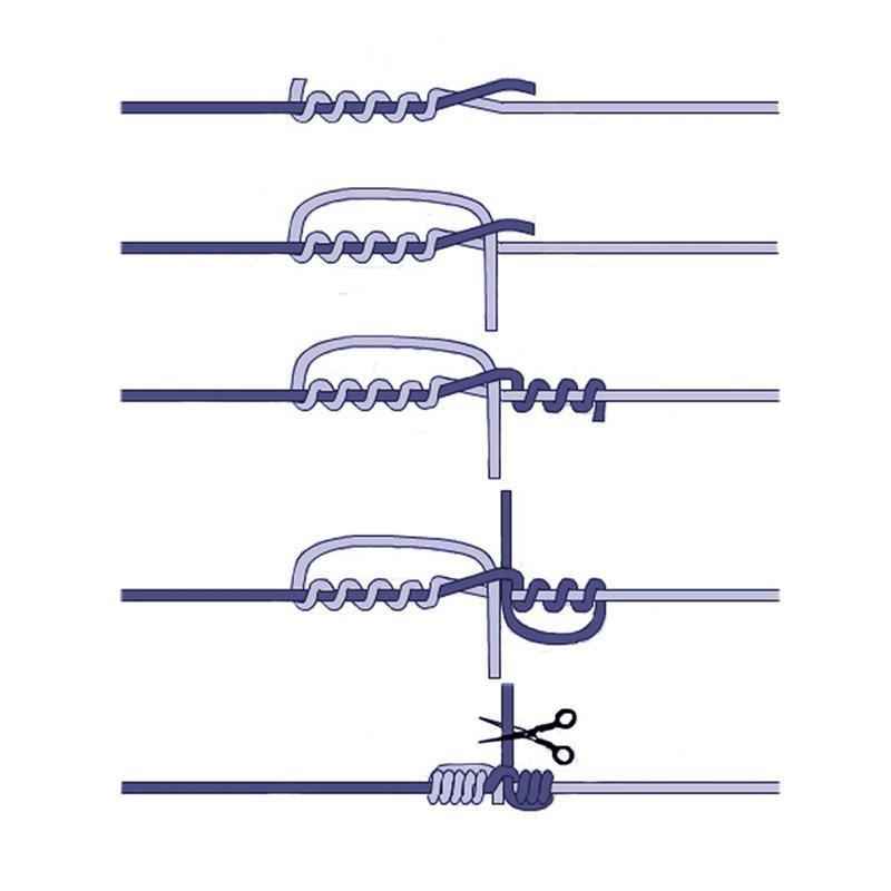 Варианты рыболовных узлов для крючков и поводков и способы их монтажа. Руководство от А до Я для начинающих