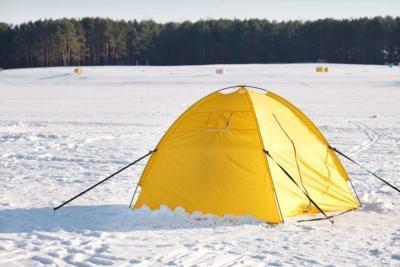 Топ-3 палаток-автомат для зимней рыбалки: важные характеристики